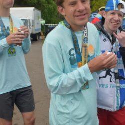 Male Runner Athlete Posing for Photo