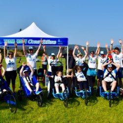 Team Hoyt Coeur d'Alene Raising Hands in the Air