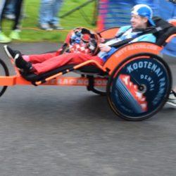 Rider Athlete Racing in Kootenai Family Dental Chair