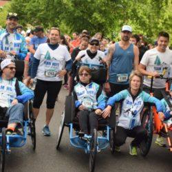 Group Photo of Team Hoyt Coeur d'Alene at Coeur d'Alene Marathon