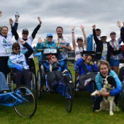 Team Photo of Team Hoyt Coeur d'Alene and Team Hoyt San Diego at Coeur d'Alene Marathon