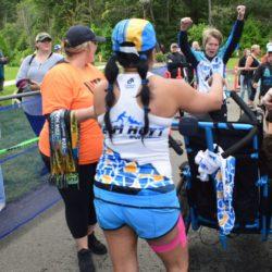 Team Hoyt San Diego Posing at Coeur d'Alene Marathon