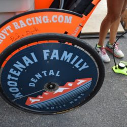 Kootenai Family Dental Sponsored Racing Seat