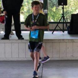 Runner Athlete Posing for Photo