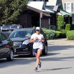 Runner Athlete Running in Race