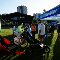 Team Hoyt Coeur d'Alene Runner Athletes in McEuen Park